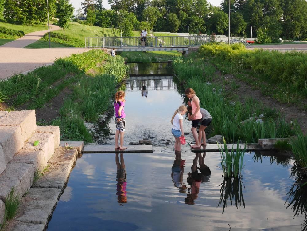 Norges beste uterom 2016: Bjerkedalen park; et vellykket fornyelsesprosjekt. Dette flotte uterommet byr på mange kvaliteter både til nabolaget og bydelen og er et attraktivt tilskudd til Oslos grønnstruktur og turveinett.