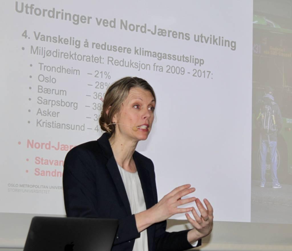 En av hovedtalerne var Gro Sandkjær Hanssen.