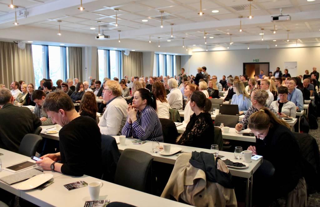 Meget godt oppmøte på mobilitetskonferansen 21. mars. 170 deltok.